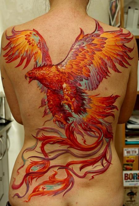 Tattoos - Phoenix - 63846